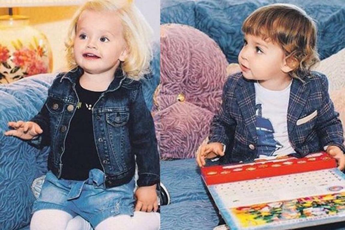 Двойняшки Пугачевой иГалкина пошли в обыденный детский парк вПодмосковье