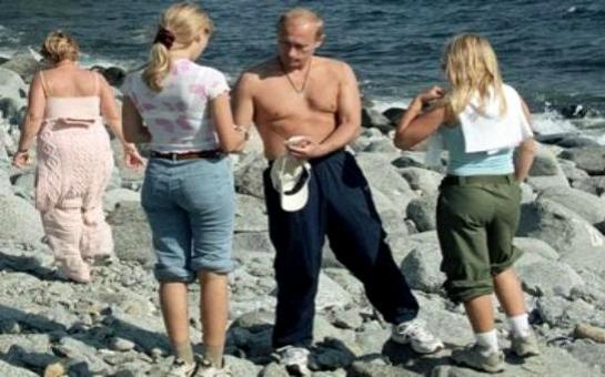 Путин дочери