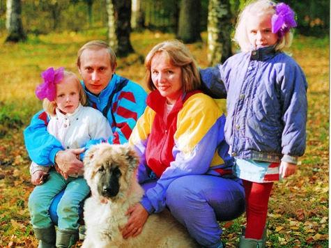 дочки Путина