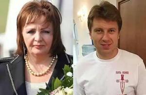 Артур Очеретный и Людмила Путина. Фото и видео