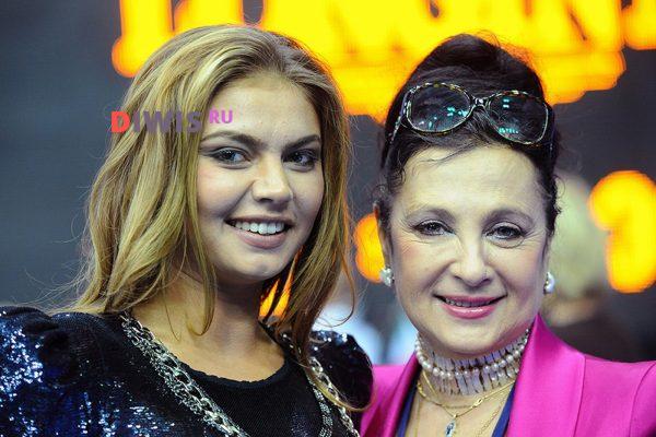 Кабаева не появилась на юбилее своего любимого тренера Ирины Винер