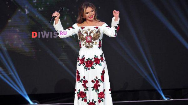 Алина Кабаева на Фестивале
