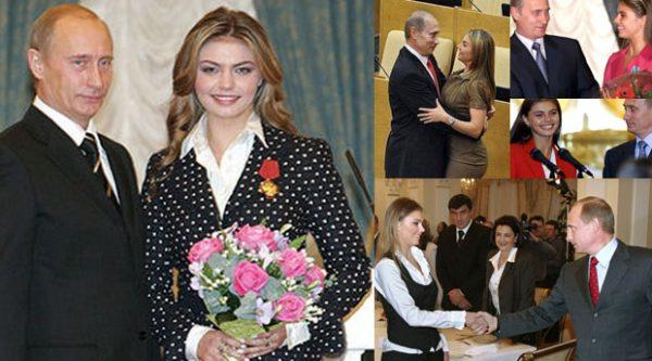 Владимир Путин и Алина Каабаева