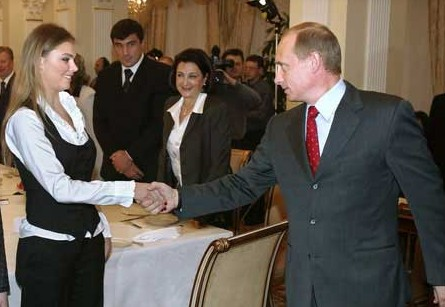 путин владимир владимирович и алина кабаева свадьба фото