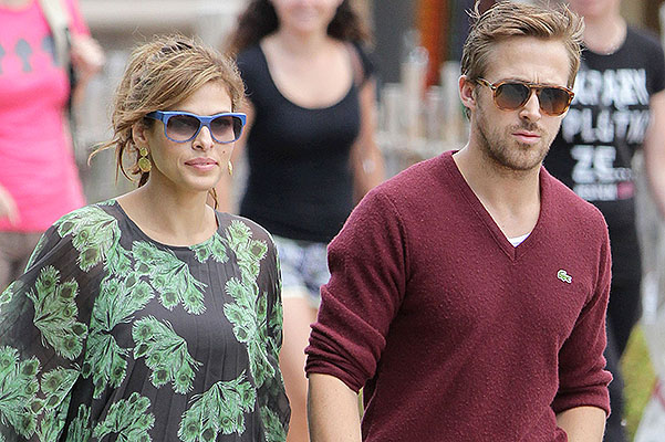 Ryan Gosling And Eva Mendes Spotted In Niagara Falls
