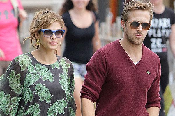 Ryan Gosling And Eva Mendes Spotted In Niagara Falls