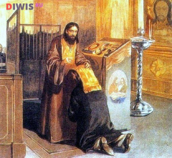 Православные молитвы перед исповедью и причастием