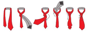 Как правильно завязать галстук пошагово самый простой способ - «полу-винздор»