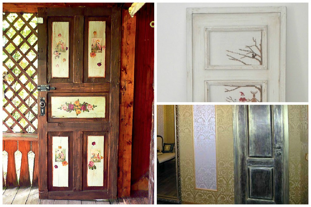 декупаж творческие идеи для вашего дома фото двери