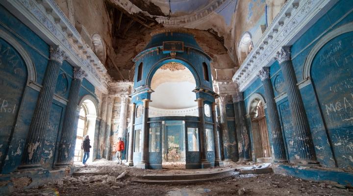 Заброшенный храм Казанской иконы Божией Матери