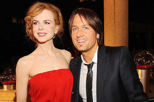 NASHVILLE, TN - NOVEMBER 10:  Nicole Kidman and Keith Urban attend the 57th Annual BMI Country Awards at BMI on November 10, 2009 in Nashville, Tennessee.  (Photo by Rick Diamond/Getty Images) *** Local Caption *** Nicole Kidman;Keith Urban