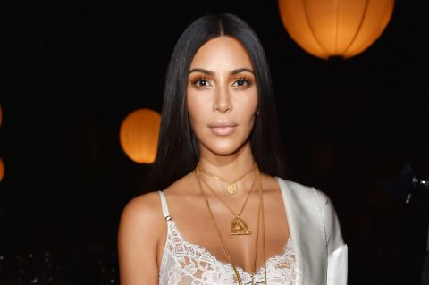 PARIS, FRANCE - OCTOBER 02:  Kim Kardashian attends the Givenchy show as part of the Paris Fashion Week Womenswear  Spring/Summer 2017  on October 2, 2016 in Paris, France.  (Photo by Pascal Le Segretain/Getty Images)