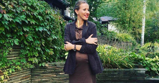 СМИ: Ксения Собчак родила ребенка от Виторгана 2016 (видео и фото)