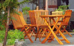 Как подобрать деревянную мебель для дачи
