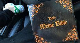 Библия мемов была мгновенно продана