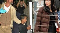 Брэд Питт выкинул вещи Анджелины Джоли из дома