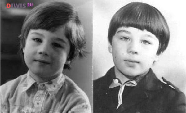 Сергей Бодров (мл) в детстве