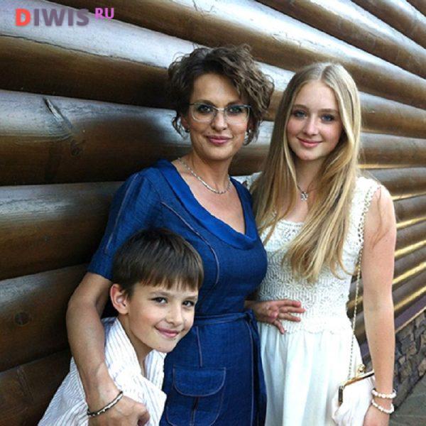 Жена и дети Сергея