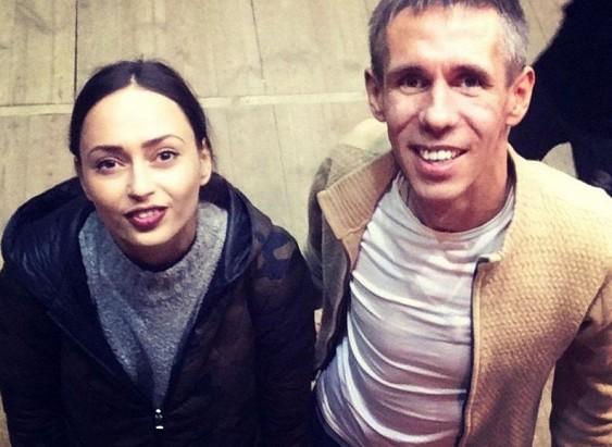 Алексей Панин завёл новую подругу