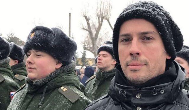 Галкина забрали в армию