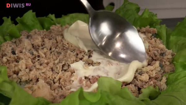 Рецепты салатов с горбушей