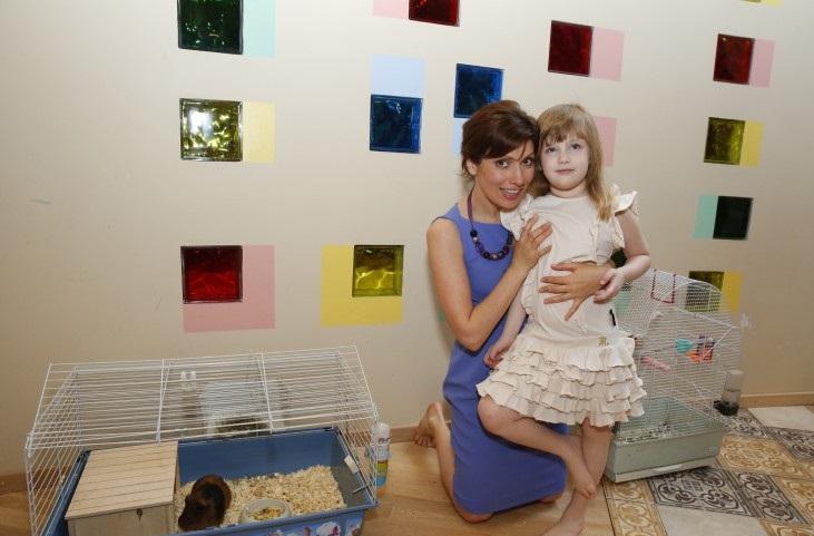 Светлана Зейланова с дочерью