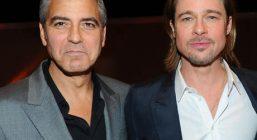 Брэд Питт надеется восстановить дружеское общение с Джорджем Клуни