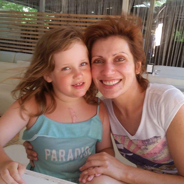 Светлана Зейналова с дочерью