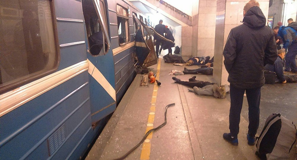 В питерском метро произошёл теракт