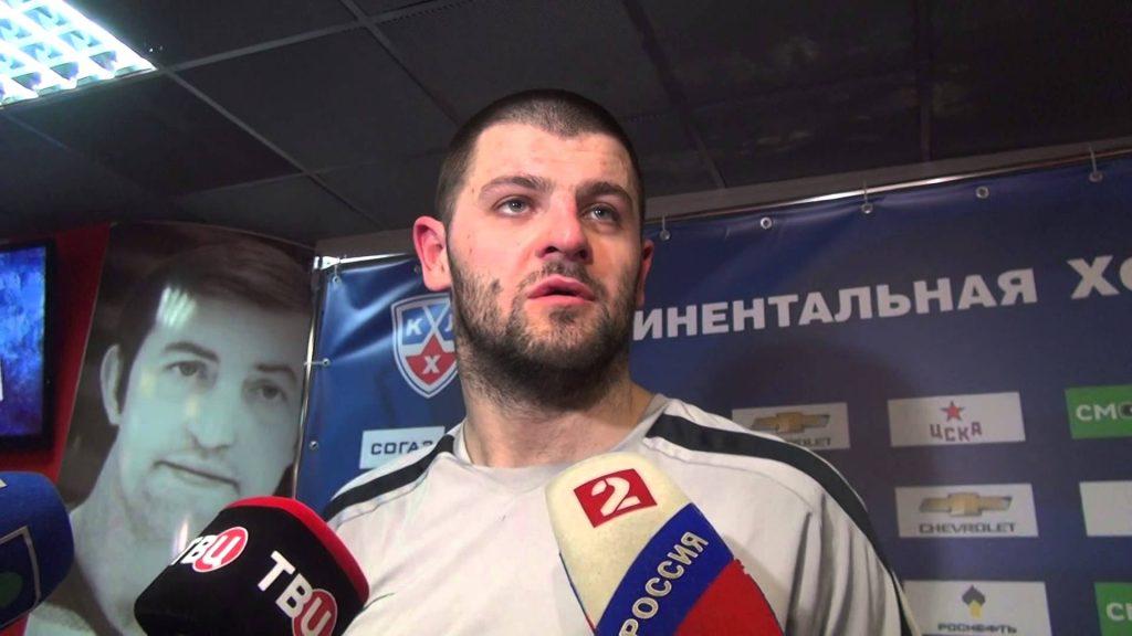 Бывший возлюбленный Нюши - Александр Радулов (хоккеист)