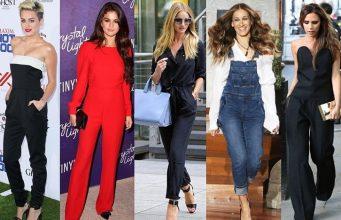 Модные комбинезоны 2017 для женщин