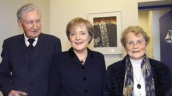 Ангела Меркель с родителями