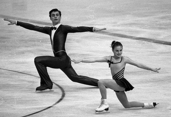 Екатерина Гордеева с партнером