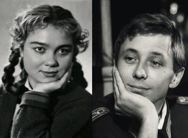 Татьяна Лаврова и Олег Даль