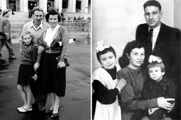 Анатолий Тарасов с семьей