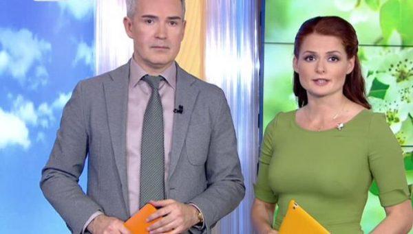 На первом канале Ландер ведет шоу «Доброе утро».