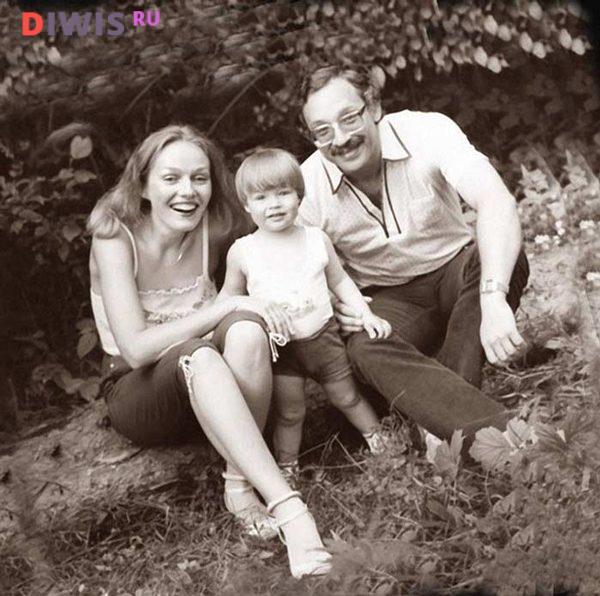 Наталья Андрейченко с первым мужем и сыном