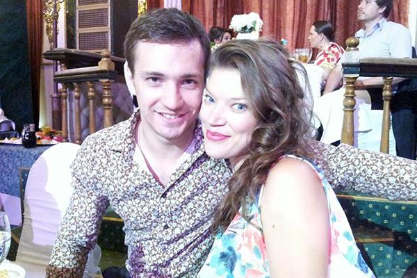 Евгений Шириков с женой Леонорой