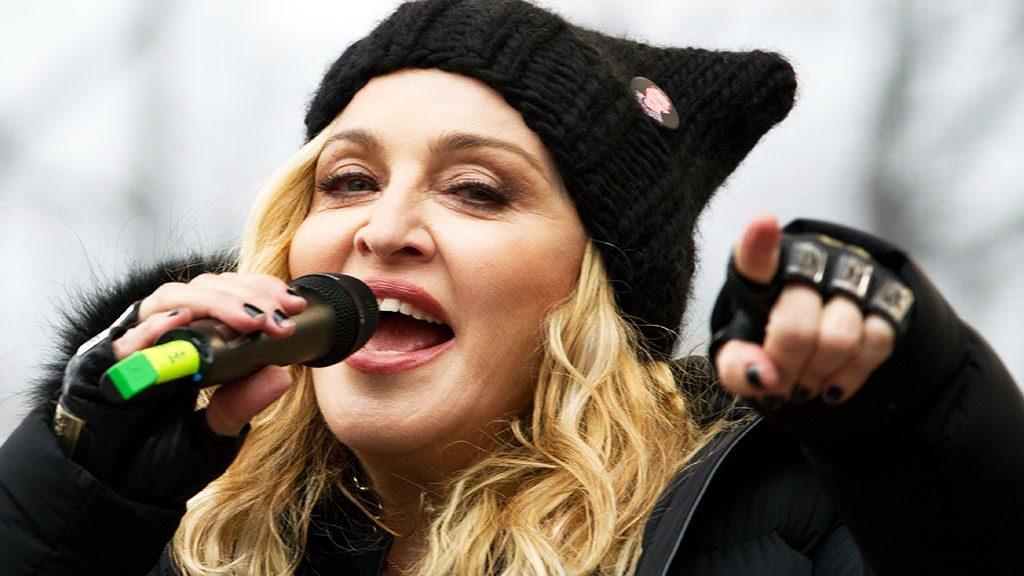 Мадонна высказалась против съёмок фильма о себе