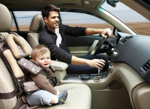 Можно ли перевозить ребенка на переднем сиденье в детском кресле 2017