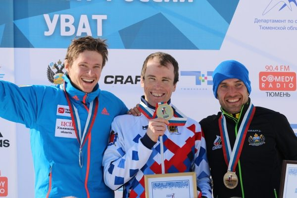 Слепов Алексей получает очередную золотую медаль