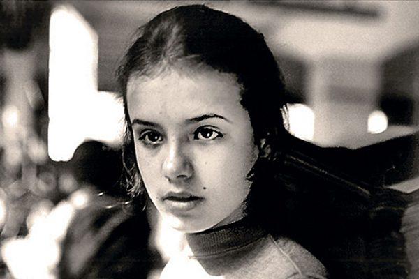 Елена Цыплакова в юности