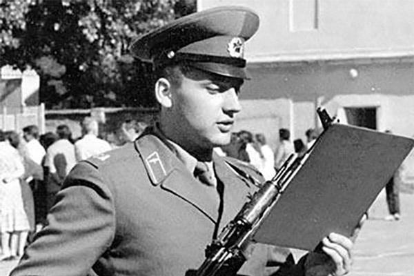 Стас Михайлов на службе в армии