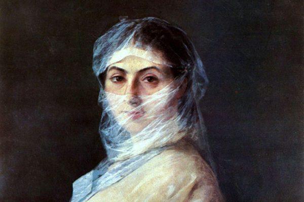 Вторая жена художника Анна Саркизова