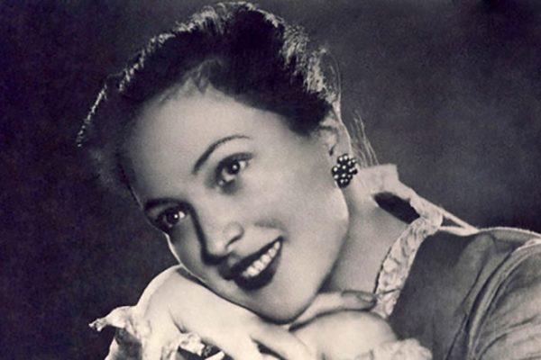 Клара Лучко в молодости
