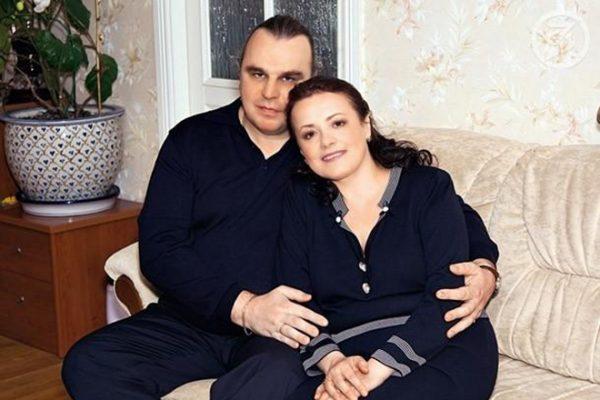 Елена Цыплакова с мужем Павлом Щербаковым