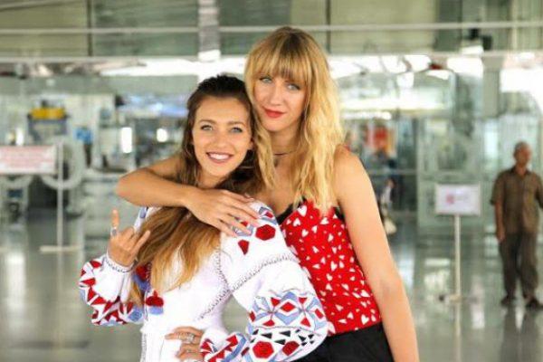 Регина Тодоренко и Леся Никитюк