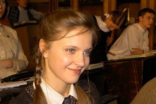 Ксения Рус в молодости