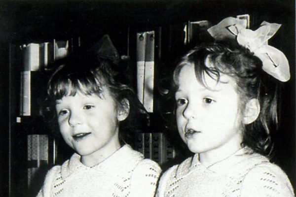 Полина Кутепова с сестрой Ксенией