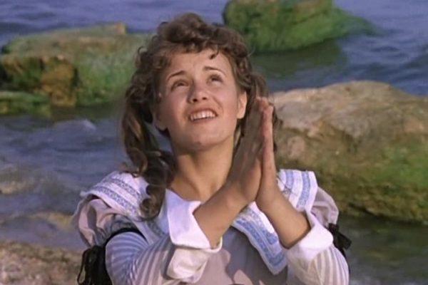 Елена Цыплакова на съемках фильма «Д'Артаньян и три мушкетера»